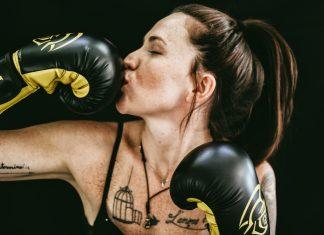 Équipement sportif pour boxeur